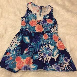 Gymboree floral dress size 4T